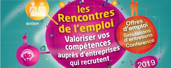 Affiche Rencontres Emploi La Chapelle sur Erdre 2019